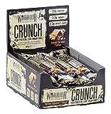 Warrior Crunch Proteinreich Low Carb Stange, 64 g, Gesalzen KaramellPack mit 12