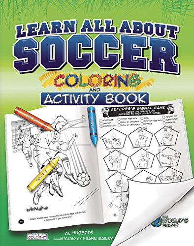 Learn All about Soccer (Colouring & Activity Book)