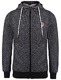 Aimado Sweater à Capuche Homme Polaire Décontractée Encapuchonné Manches Longues avec Zip et Cordon Pull à Capuche