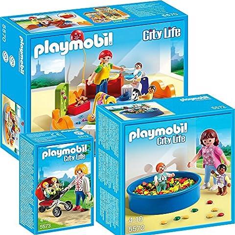 Playmobil ville City Life Set des 3-partes 5570 crèche +