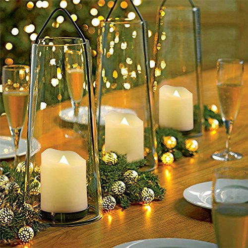 GBATERI Paquete de 12 LED Tealights con temporizador y remoto Parpadeo votivo Luz de té sin llama LED Velas Funciona con pilas,Plástico Eléctrico Velas Tealight falsas Sin perfume Velas Votivas LED Llama Amber Yellow para la boda, fiesta y Cumpleaños Navidad Halloween