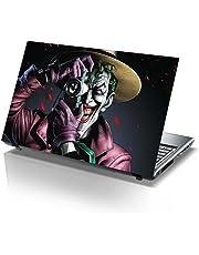 PIXELARTZ Eco-Vinyl The Killing Joker - Batman Printed 15.6-inch Laptop Skin for Dell, Lenovo, Acer, HP, Sony (Multicolour)