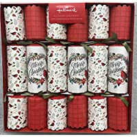 Hallmark Deluxe Christmas Crackers 6 Pack - 2018 Limited Edition 33cm Large Luxury Crackers