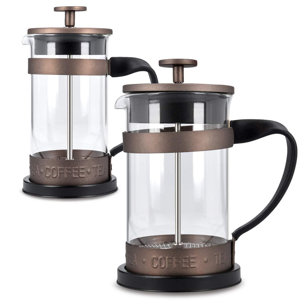 Edelstahl Ersatzfilter Kaffeemaschine Sieb für Französische Presse 8,5 cm