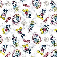 Mickey Mouse tela–SC130Mickey y Minnie Mouse 1928Vintage–Disney tela, tela de cómic–0,5m múltiplos–100% algodón