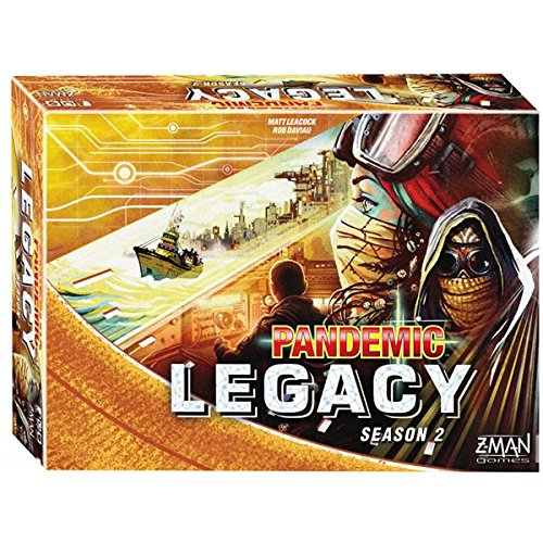 Devir Iberia Pandemic Legacy, Temporada 2, Color Amarillo (225471)