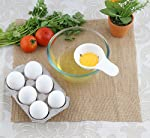 For those who are cholesterol conscious, Egg White Separator Filters yolk and gives you egg white. Which is used in beauty recipes and fat free healthy recipes.