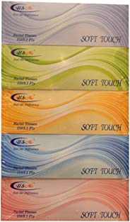 U&Me Soft Touch Facial Tissues - Pack of 5 Boxes (5 x 150 Sheets x 2 ply)