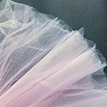 Pastel Rosa claro Fine neta tela de tul 300cm de ancho–se vende por metro–adecuado para novia, Underskirt, velo, pleating & ruching