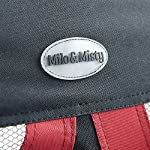 MILO & MISTY Fabric Pet Carrier - Lightweight Folding Travel Seat for Dogs, Cats, Puppies - Made of Waterproof Nylon and… 18