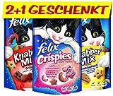 Felix Katzensnack Snackbox 12 + 6 gratis, 1 Packung (1 x 990 g) - 2