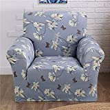 Sofabezug für Sofa mit Armlehnen Sofa-Überwürfe Sessel Überzug strech, elastisch und weich in Verschiedenen Größen
