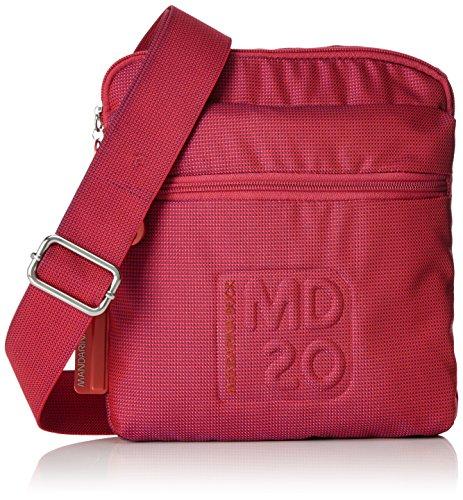 Mandarina Duck - Md20 Minuteria, Borsa a tracolla Donna Rot (Mara Red)