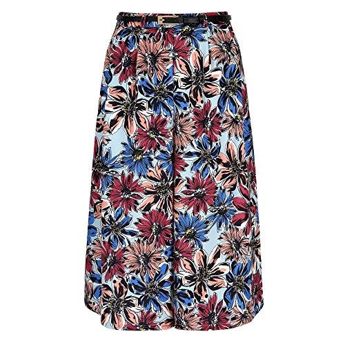 Yumi - Jupe-culotte à fleurs - Femme Multicolore
