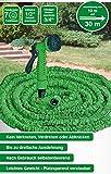 Unbekannt VARILANDO Flexibler Gartenschlauch mit Multifunktions-Brause 30 m Flexi-Schlauch Flexischlauch