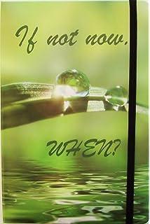 "Tagebuch /""It/'S Time To Start Living/"" Notizbuch Mit Spruch Din A5 Blanko Hardcove"