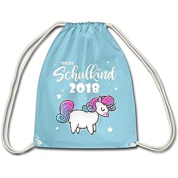 Spreadshirt Einschulung Stolzes Einhorn Schulkind 2018 Turnbeutel