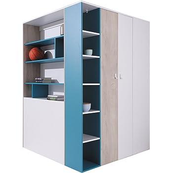Furniture24 Eu Eckkleiderschrank Eckschrank Begehbarer Schrank