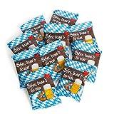50 Stück kleine BAYERN blau weiß Gummibärchen give-away Geschenk SCHÖN DASS DU DA BIST Gastgeschenk give-away Hochzeit Oktoberfest bayerisch Geschenk Mitgebsel Bier-Fest kariert Souvenir