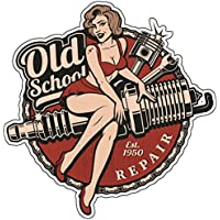 e6953e8205b0a3 Finest-Folia Retro Vintage Aufkleber Sticker Old School Ace Kult Rockabilly  (#22 Spark