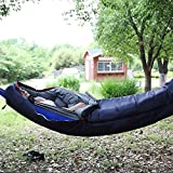REDCAMP Hammock Mummy Sleeping Bag for Backpacking, Lightweight Portable Camping Hiking Sleeping Bag