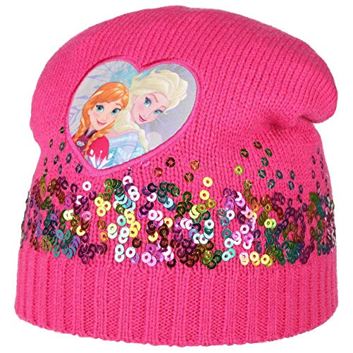 Hutshopping ELSA und Anna Frozen Mütze mit Pailletten Kindermütze Mädchenmütze...