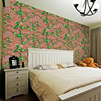 Decompression Toys, Beikoard 3D Wall Paper Brick Stone Rustic Effect Self-adhesive Wall Sticker Home Decor S (Multi) from Beikoard