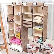 zqmd home para colgar caja de de la ropa bolsas de almacenaje estanteras friendly armario organizador suter y organizador de bolso