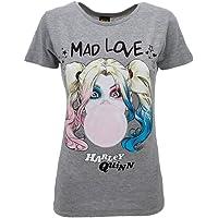 Sabor srl T-Shirt Harley Quinn Originale Birds of Prey e la fantasmagorica rinascita di Harley Quinn Film 2020 Ufficiale…