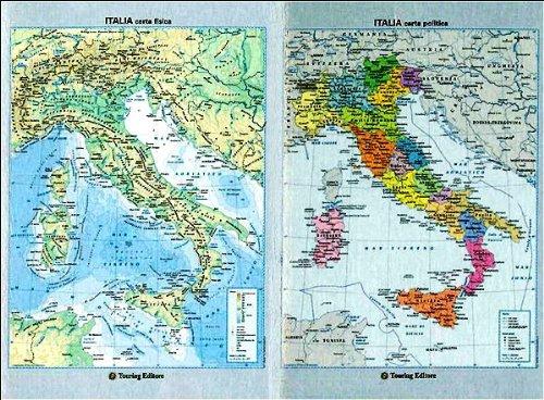Italia - Carta Fisico Politica