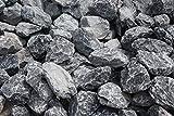 Ziersplitt Bruchstein grau 50-100 mm, 25 kg Sack, Splitt, Gabionenfüllung, Gabione, Kies von Gartenwelt Riegelsberger