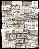 Goldhahn 100 STECKKARTEN - KOMPLETTE SÄTZE UND BLOCKS - Briefmarken für Sammler