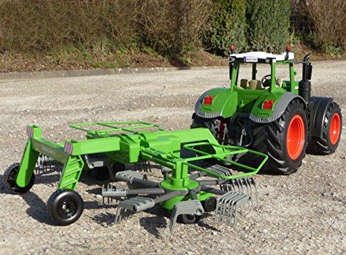RC Traktor FENDT 1050 SCHWADER-Anhänger in XL Länge 70cm