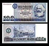 *** 2 Stück 100 DDR Mark Mark Geldscheine 1975 Alte Währung - Reproduktion ***
