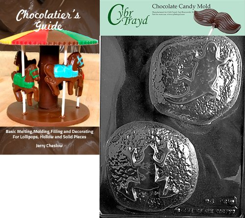 Cybrtrayd Reptile Rocks Kinder Schokolade Candy Form mit Chocolatier 's Guide Anweisungen Buch Handbuch -