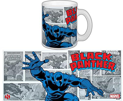 Marvel Comics Tasse Black Panther Kaffeetasse Keramik Becher