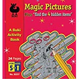 A Buki Activity Book - Magic Pictures by Poof Slinky