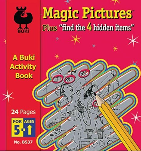 A Buki Activity Book - Magic Pictures by Poof Slinky (Schauen Slinky)