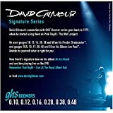 GHS Boomers David Gilmour 10-48 Guitar String - Blue