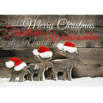5 x weihnachtsm nner in new york lustige weihnachtskarten im 5er set mit briefumschl gen - Weihnachtskarten amazon ...