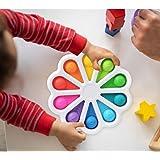 Hpory Simple Fidget Toy, Push Bubble Fidget Sensory Squeeze Toys voor kinderen Volwassenen Fidget Toys Silicone Squeeze Toys