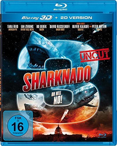 Sharknado 3 - Oh Hell No! (Real 3D inkl. 2D Version) [3D Blu-ray]