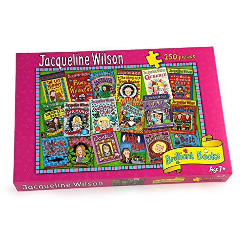 Paul Lamond Jacqueline Wilson Brilliant Books Puzzle  250-Piece