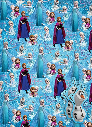 Disney-Frozen-2x-Gift-Wrap-Sheets-and-2x-Gift-Tags