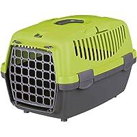 Trixie Capri I Hard Shell Pet Carrier, Dark Green/Pastel Green