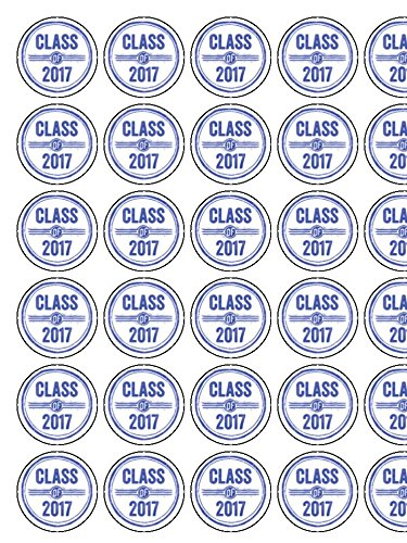 30-x-class-of-2017-school-leavers-15-38cm-pre-cut-premium-rice-paper-edible-cake-toppers