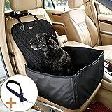 H&Y TECH Coprisedile anteriore per cani Coprisedile anteriore per cani Impemeabile Sedile per Cani con Cintura di Sicurezza e Borsa da trasporto 45*45*58CM