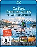 Zu Fuß über die Alpen - Von München nach Venedig - Blu Ray | incl. 50-seitiger Wanderführer