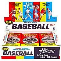 2015 Topps Heritage Baseball Hobby Box MLB