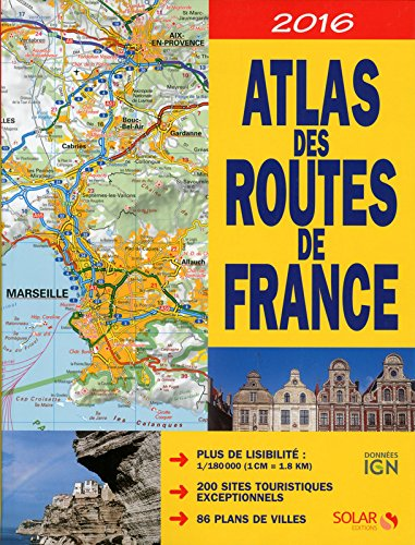 Atlas des routes de France 2016